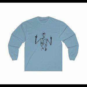 Tops - Skelly design long sleeve shirt